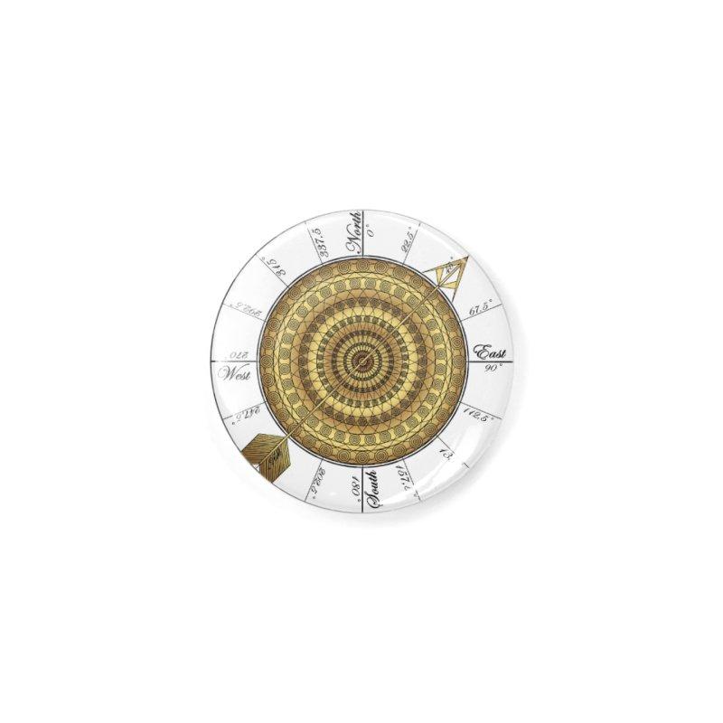 Compass Accessories Button by Rocain's Artist Shop