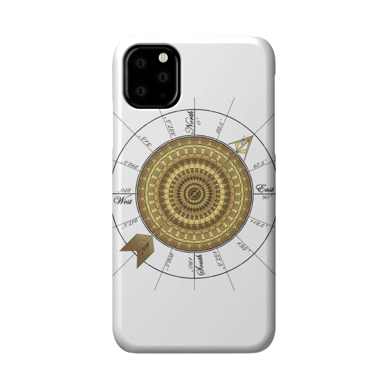 Compass Accessories Phone Case by Rocain's Artist Shop