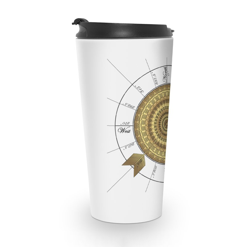 Compass Accessories Travel Mug by Rocain's Artist Shop