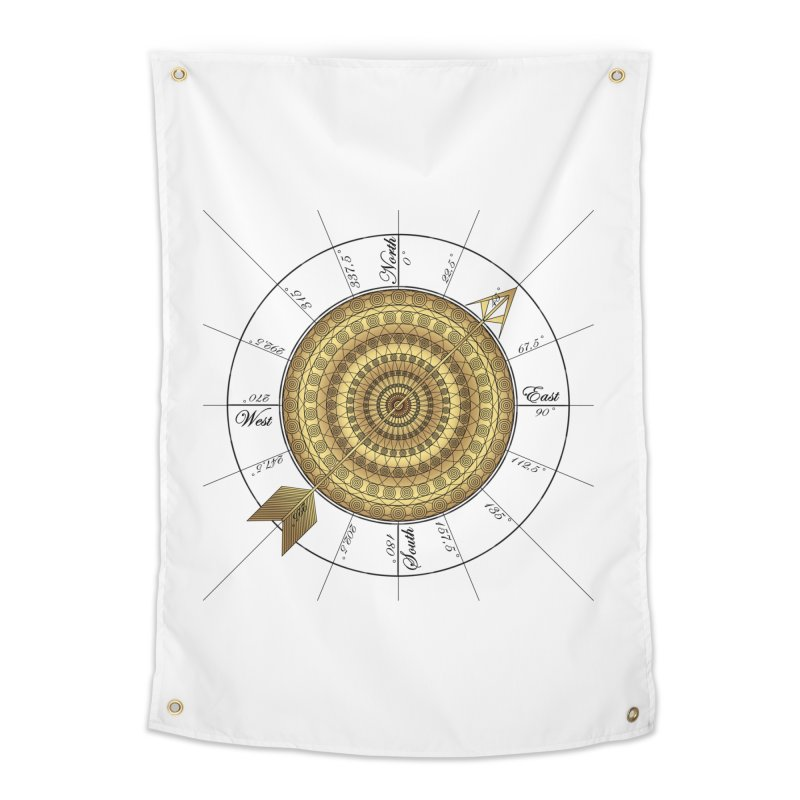 Compass Home Tapestry by Rocain's Artist Shop
