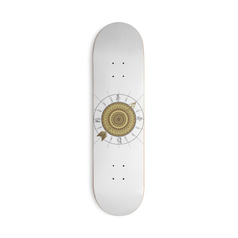 Compass Accessories Skateboard by Rocain's Artist Shop