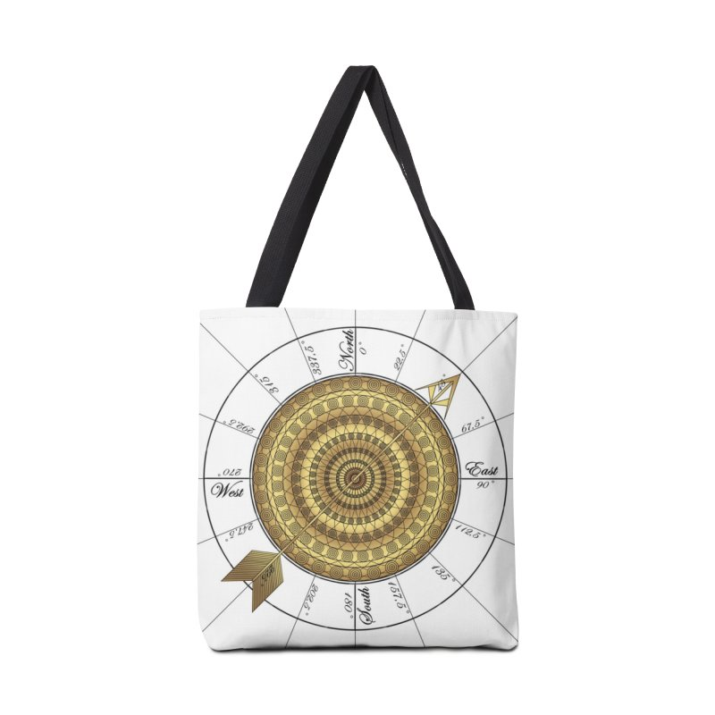 Compass Accessories Tote Bag Bag by Rocain's Artist Shop