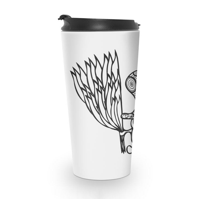Shroomy Accessories Travel Mug by Rocain's Artist Shop