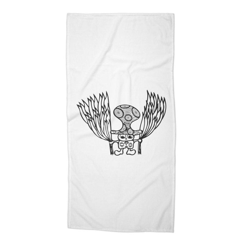 Shroomy Accessories Beach Towel by Rocain's Artist Shop
