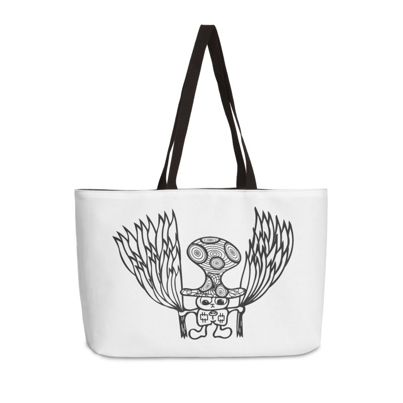 Shroomy Accessories Weekender Bag Bag by Rocain's Artist Shop