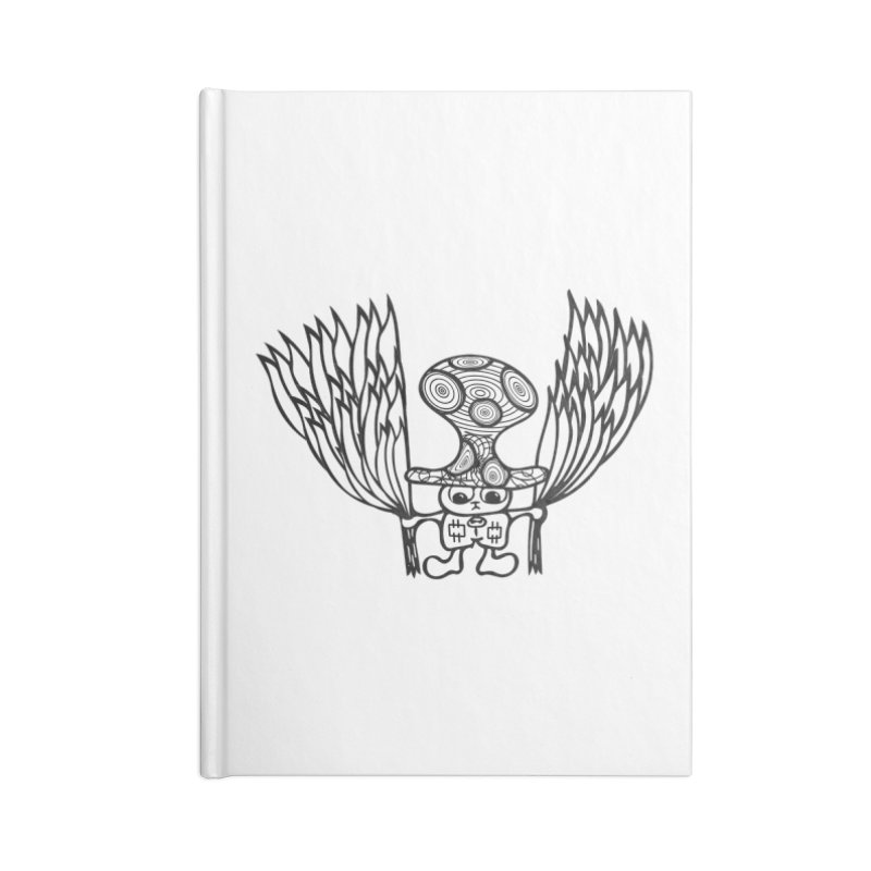 Shroomy Accessories Lined Journal Notebook by Rocain's Artist Shop