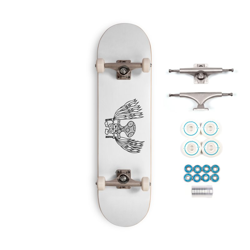 Shroomy Accessories Complete - Basic Skateboard by Rocain's Artist Shop
