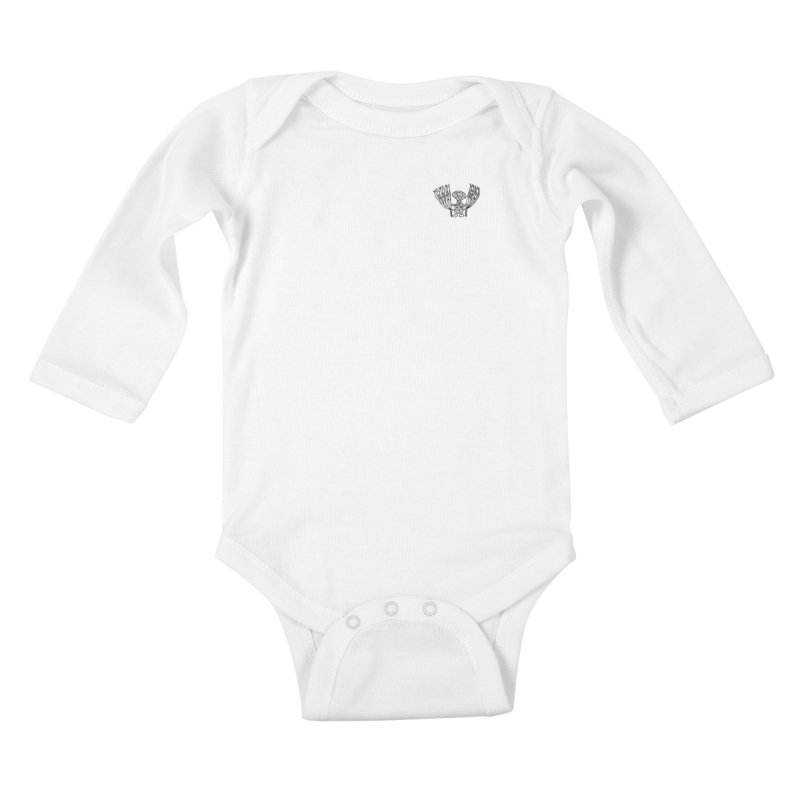 Shroomy Kids Baby Longsleeve Bodysuit by Rocain's Artist Shop