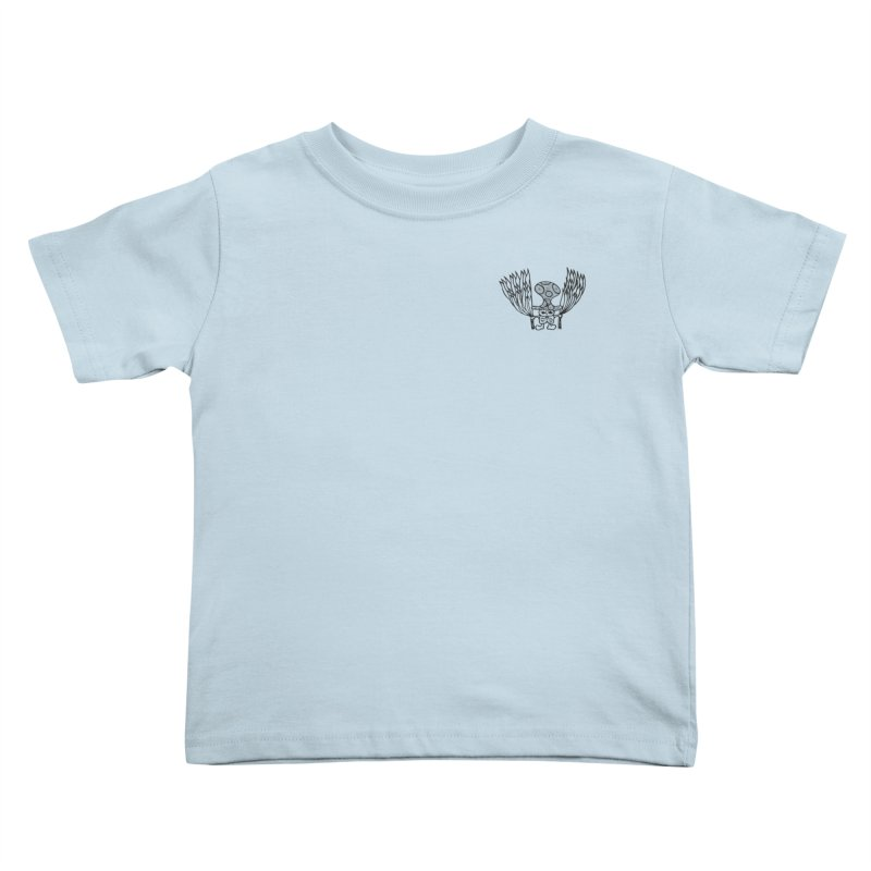 Shroomy Kids Toddler T-Shirt by Rocain's Artist Shop