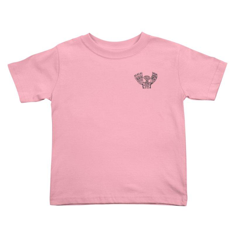 Shroomy Kids Toddler T-Shirt by Rocain's Artist Shop