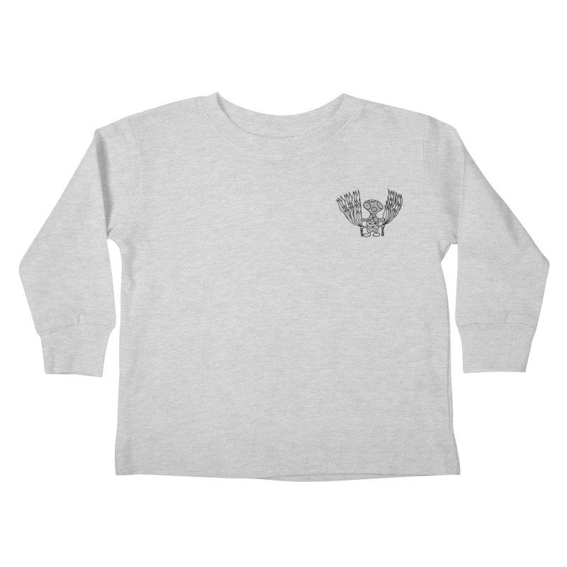 Shroomy Kids Toddler Longsleeve T-Shirt by Rocain's Artist Shop
