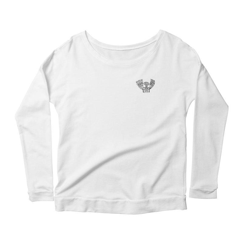 Shroomy Women's Scoop Neck Longsleeve T-Shirt by Rocain's Artist Shop