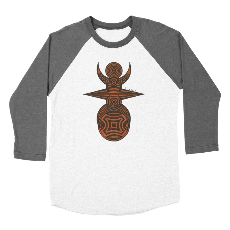 Totem Women's Baseball Triblend Longsleeve T-Shirt by Rocain's Artist Shop