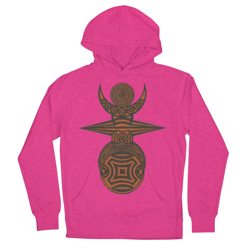 Totem Women's French Terry Pullover Hoody by Rocain's Artist Shop