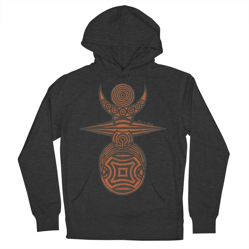 Totem Men's French Terry Pullover Hoody by Rocain's Artist Shop