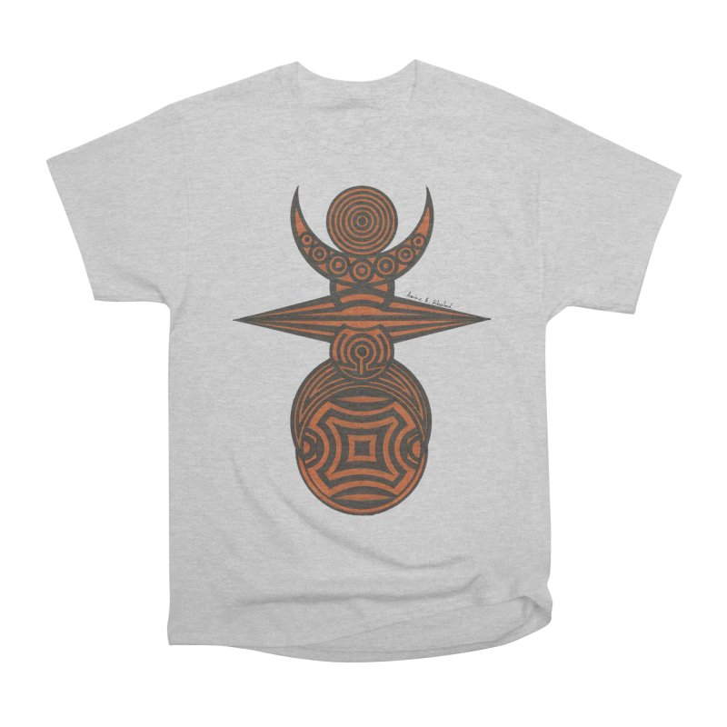 Totem Men's Heavyweight T-Shirt by Rocain's Artist Shop