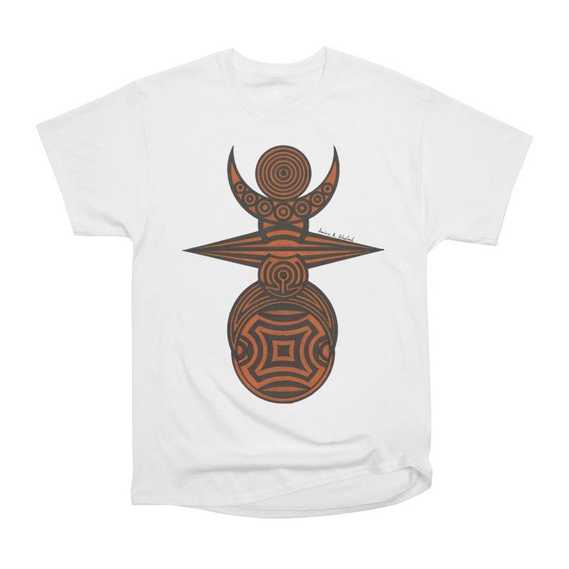 Totem Women's Heavyweight Unisex T-Shirt by Rocain's Artist Shop