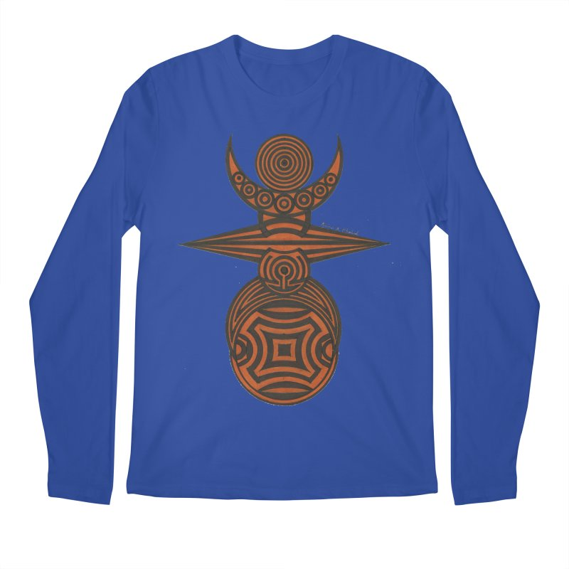 Totem Men's Regular Longsleeve T-Shirt by Rocain's Artist Shop