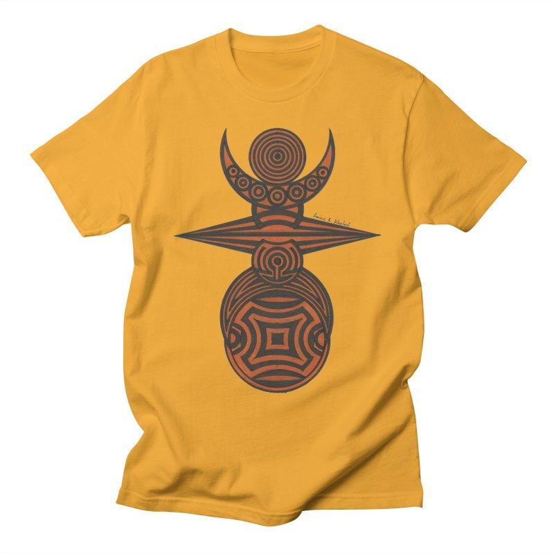 Totem Men's Regular T-Shirt by Rocain's Artist Shop