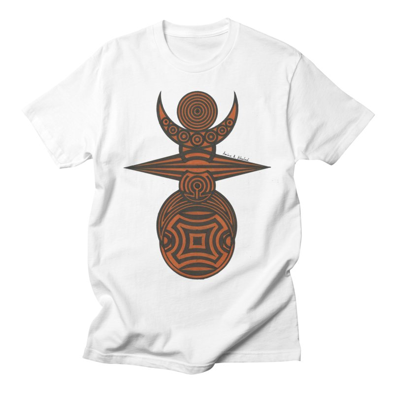Totem Men's Regular T-Shirt by Rocain's Artist Shop