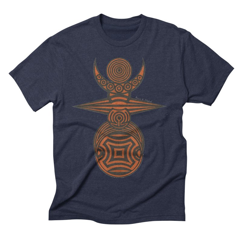 Totem Men's Triblend T-Shirt by Rocain's Artist Shop