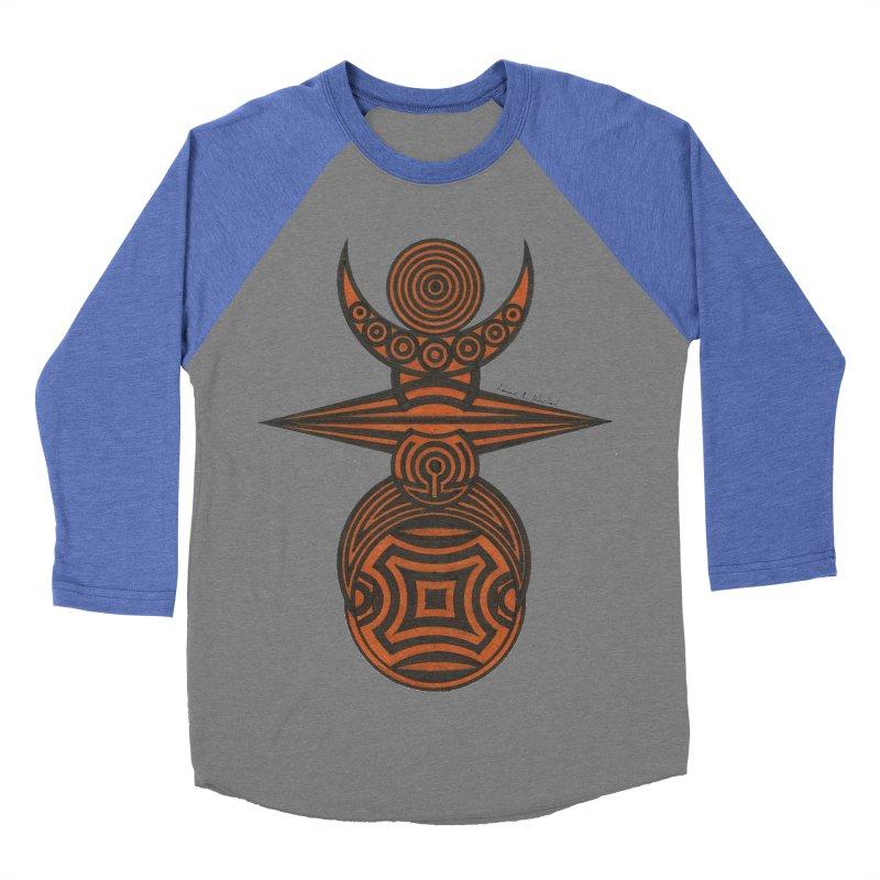 Totem Women's Baseball Triblend Longsleeve T-Shirt by Rocain's Artist Shop