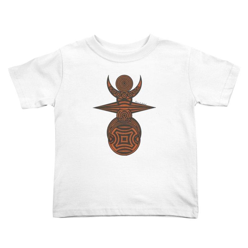 Totem Kids Toddler T-Shirt by Rocain's Artist Shop