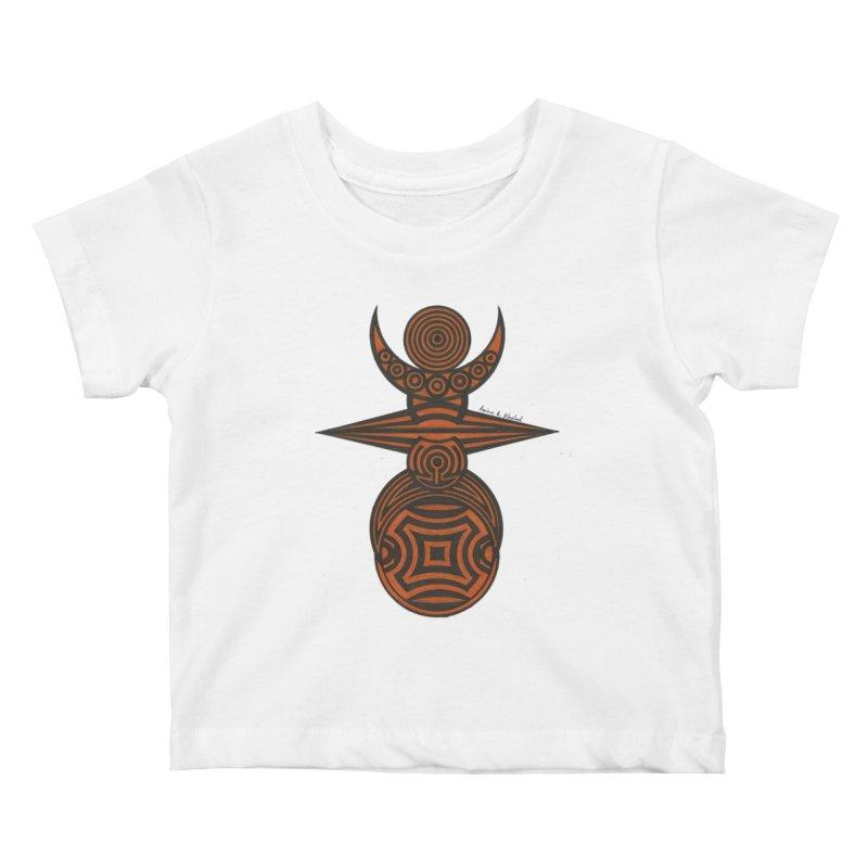 Totem Kids Baby T-Shirt by Rocain's Artist Shop
