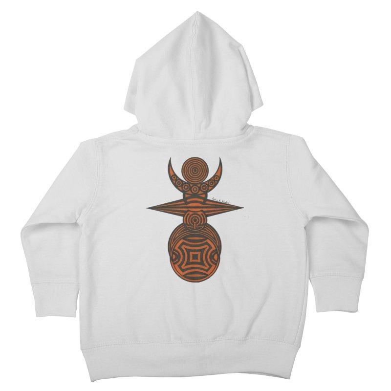 Totem Kids Toddler Zip-Up Hoody by Rocain's Artist Shop