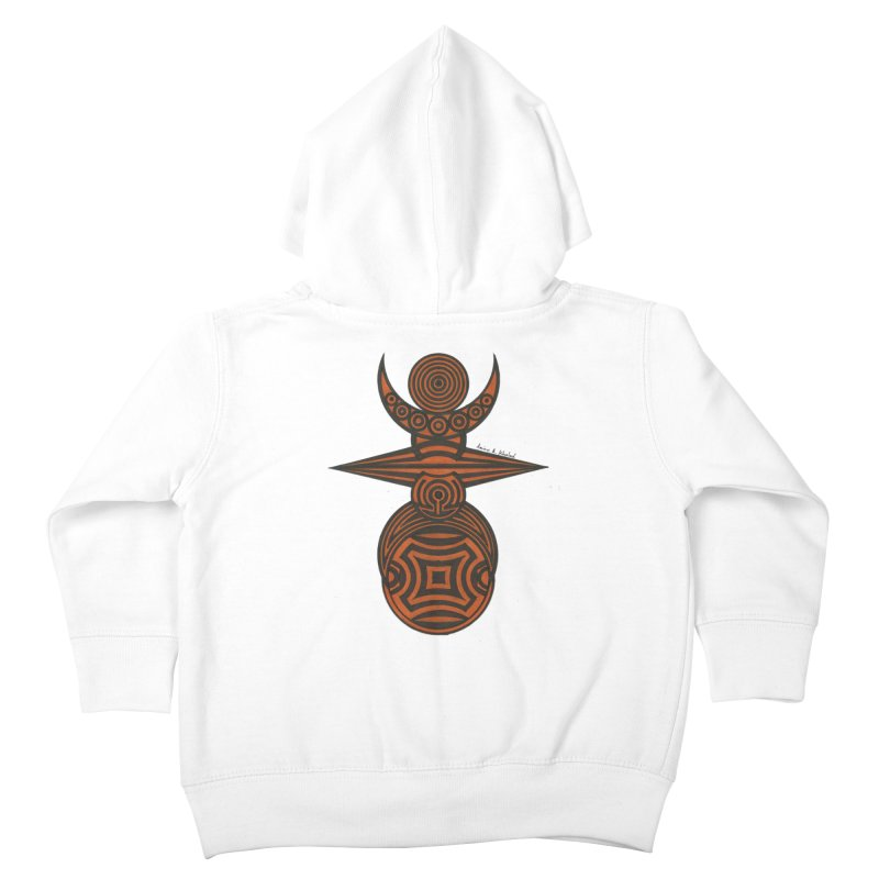 Totem Kids Toddler Zip-Up Hoody by Rocain's Artist Shop