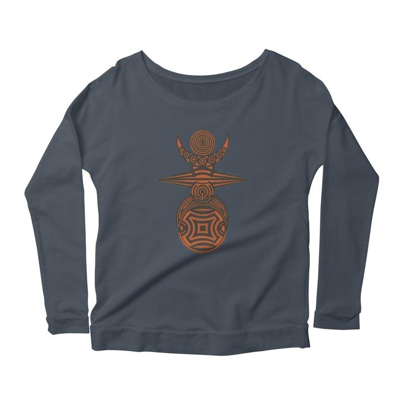 Totem Women's Scoop Neck Longsleeve T-Shirt by Rocain's Artist Shop