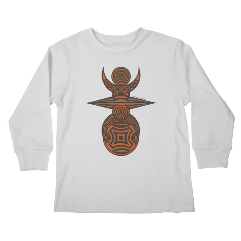 Totem Kids Longsleeve T-Shirt by Rocain's Artist Shop