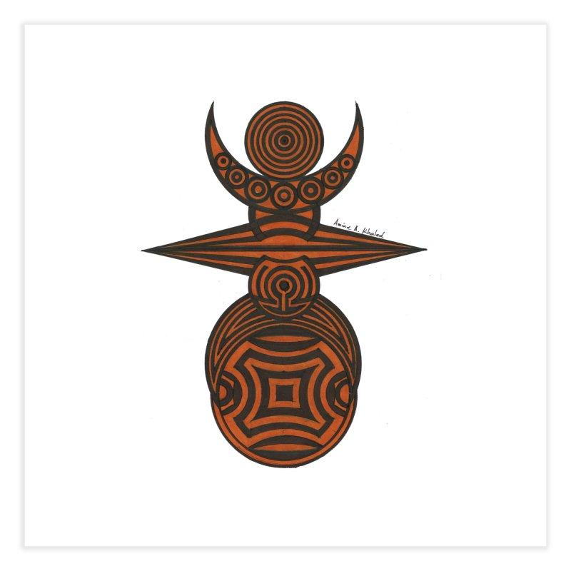 Totem Home Fine Art Print by Rocain's Artist Shop