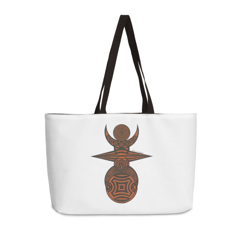 Totem Accessories Weekender Bag Bag by Rocain's Artist Shop