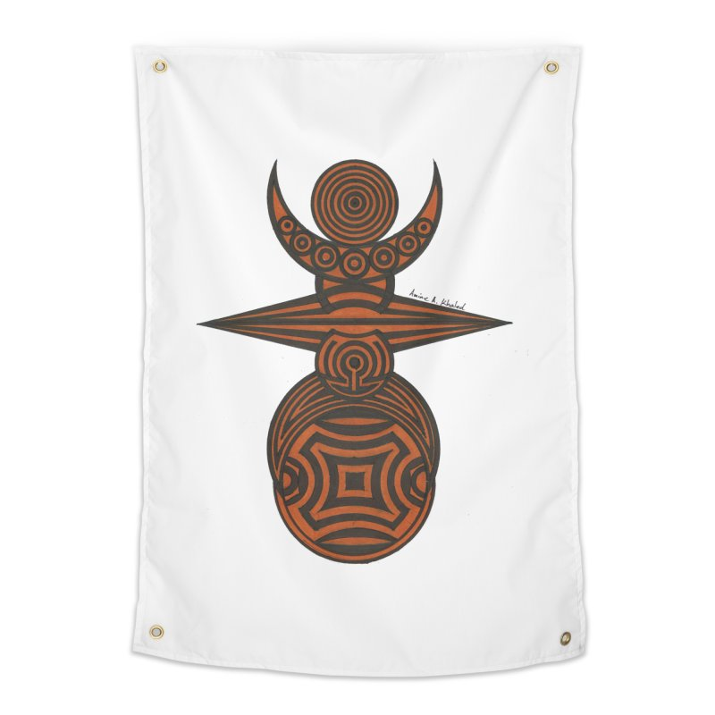Totem Home Tapestry by Rocain's Artist Shop