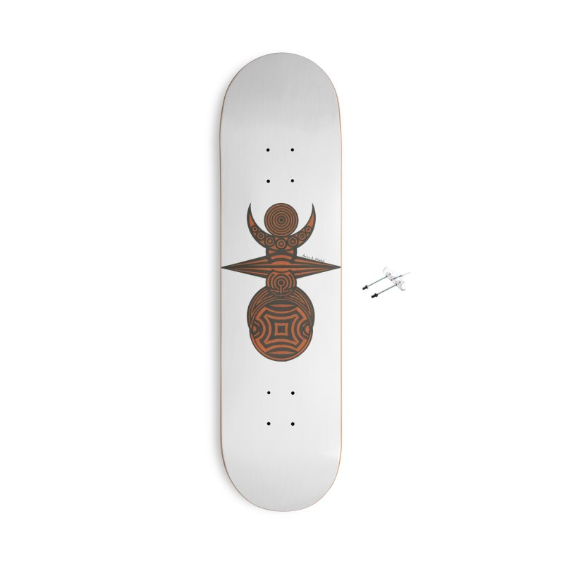Totem Accessories With Hanging Hardware Skateboard by Rocain's Artist Shop