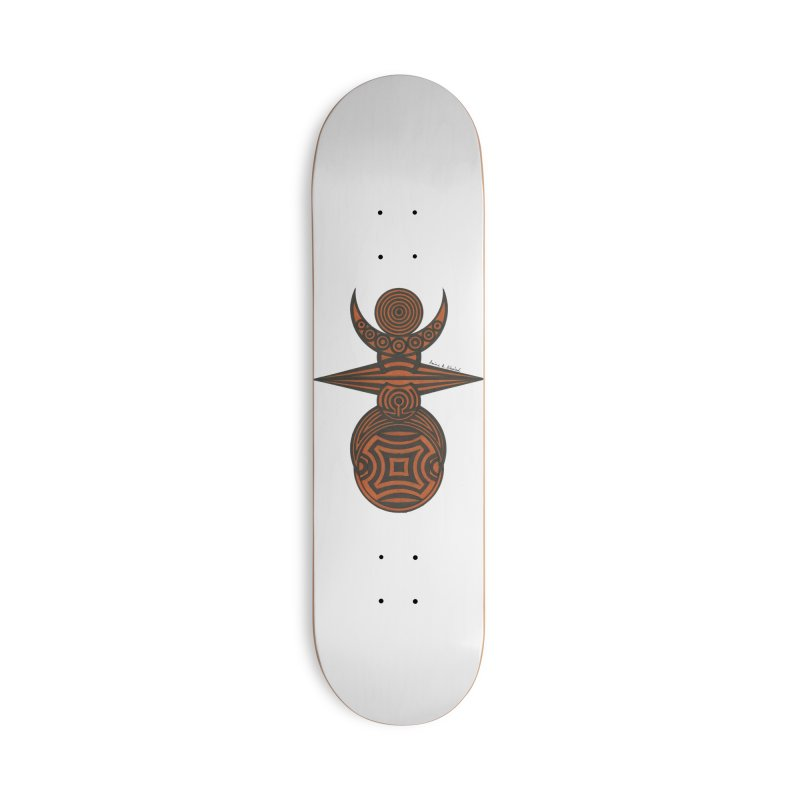 Totem Accessories Deck Only Skateboard by Rocain's Artist Shop