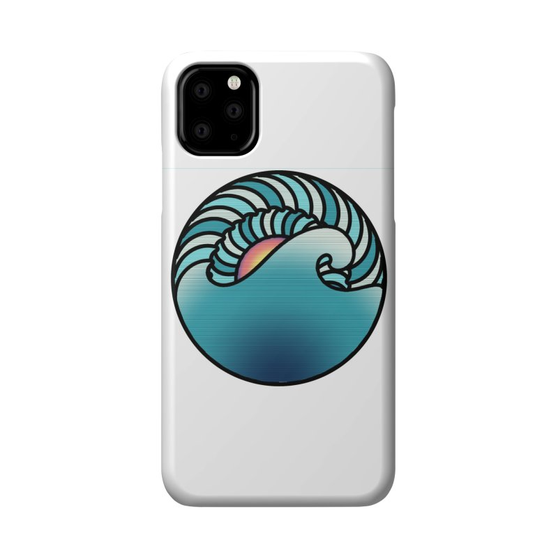 Endless Wave Accessories Phone Case by Rocain's Artist Shop