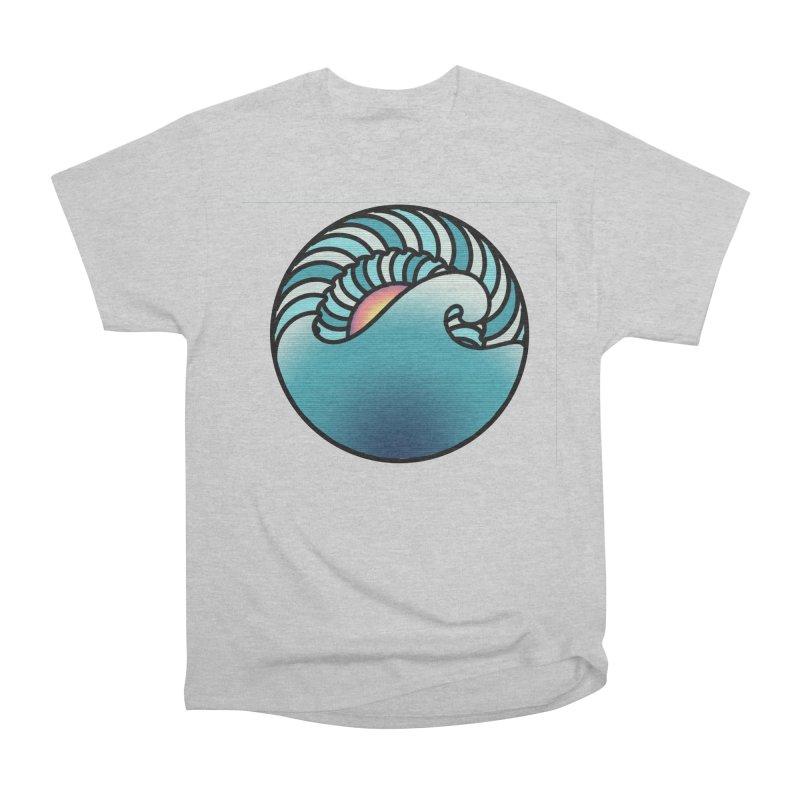 Endless Wave Women's Heavyweight Unisex T-Shirt by Rocain's Artist Shop