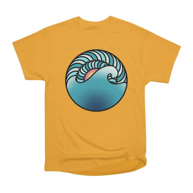 Endless Wave Men's Heavyweight T-Shirt by Rocain's Artist Shop