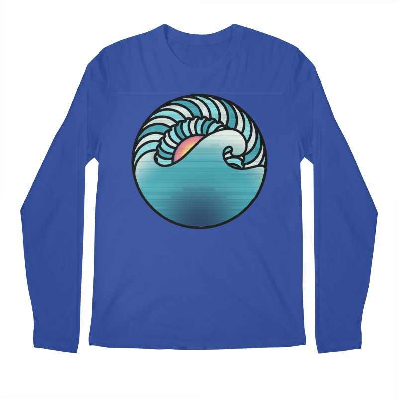 Endless Wave Men's Regular Longsleeve T-Shirt by Rocain's Artist Shop