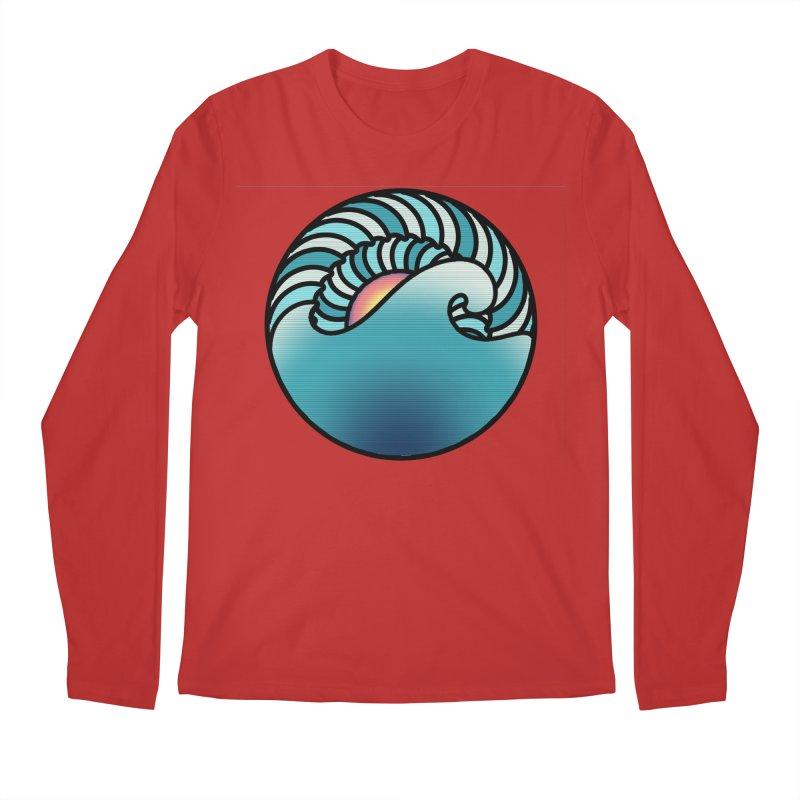 Endless Wave Men's Regular Longsleeve T-Shirt by Rocain's Artist Shop