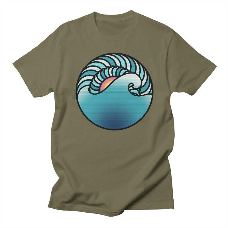 Endless Wave Men's Regular T-Shirt by Rocain's Artist Shop