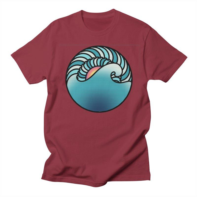 Endless Wave Women's Regular Unisex T-Shirt by Rocain's Artist Shop
