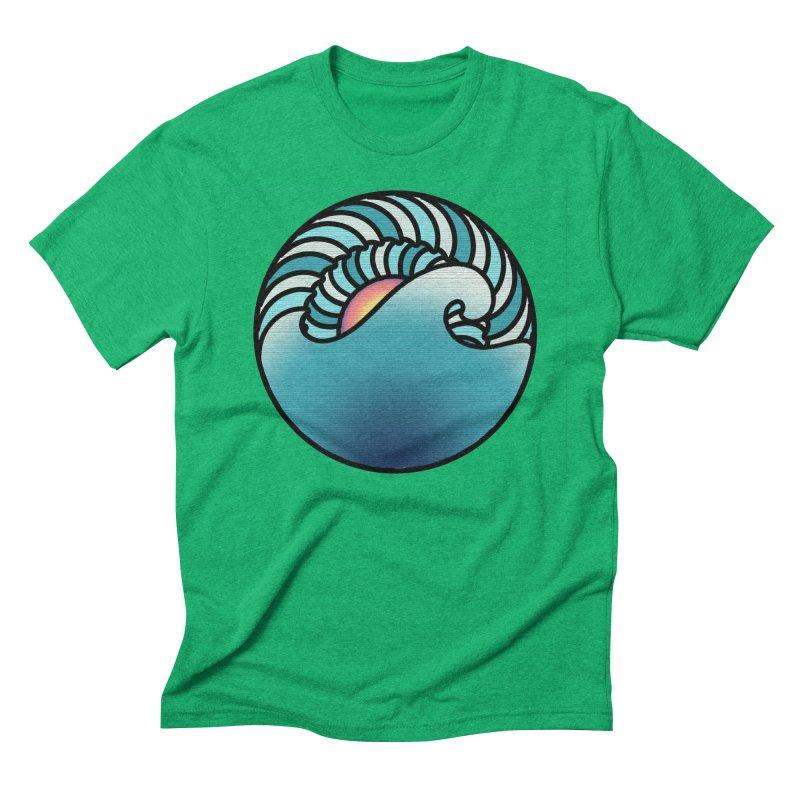 Endless Wave Men's Triblend T-Shirt by Rocain's Artist Shop