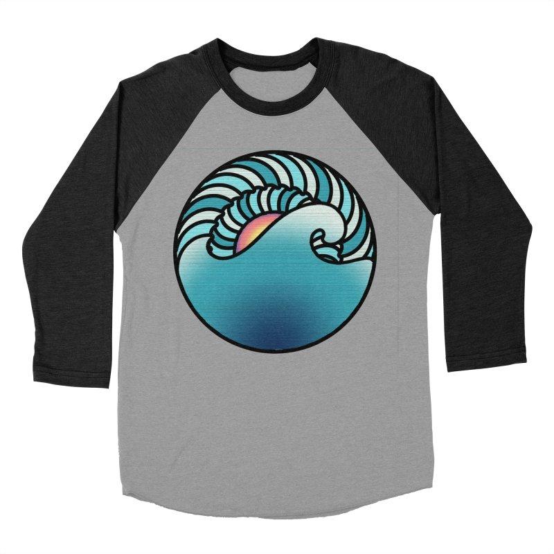 Endless Wave Women's Baseball Triblend Longsleeve T-Shirt by Rocain's Artist Shop