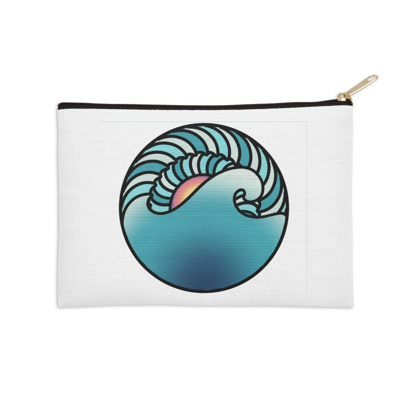 Endless Wave Accessories Zip Pouch by Rocain's Artist Shop