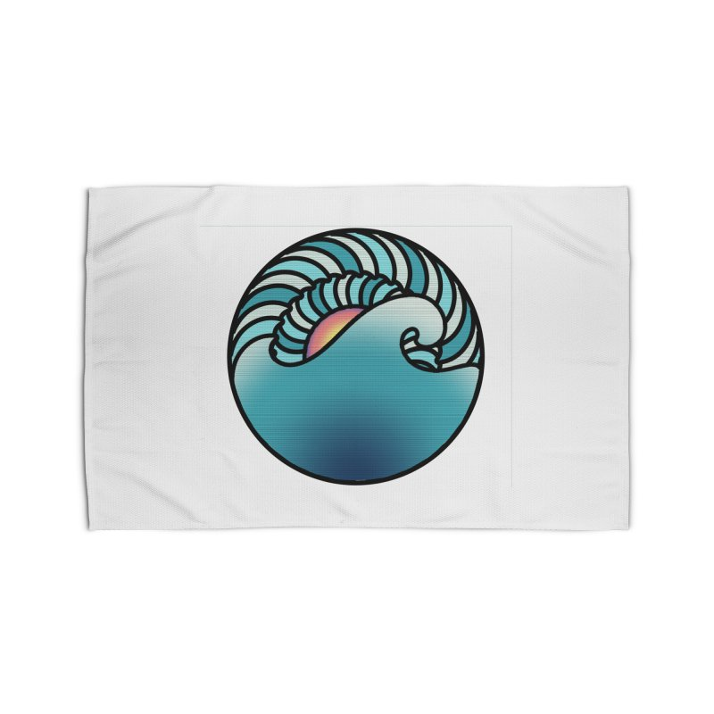 Endless Wave Home Rug by Rocain's Artist Shop