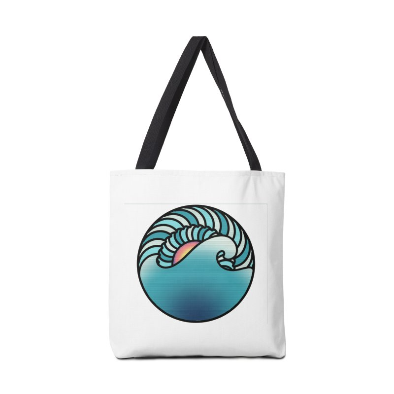 Endless Wave Accessories Tote Bag Bag by Rocain's Artist Shop