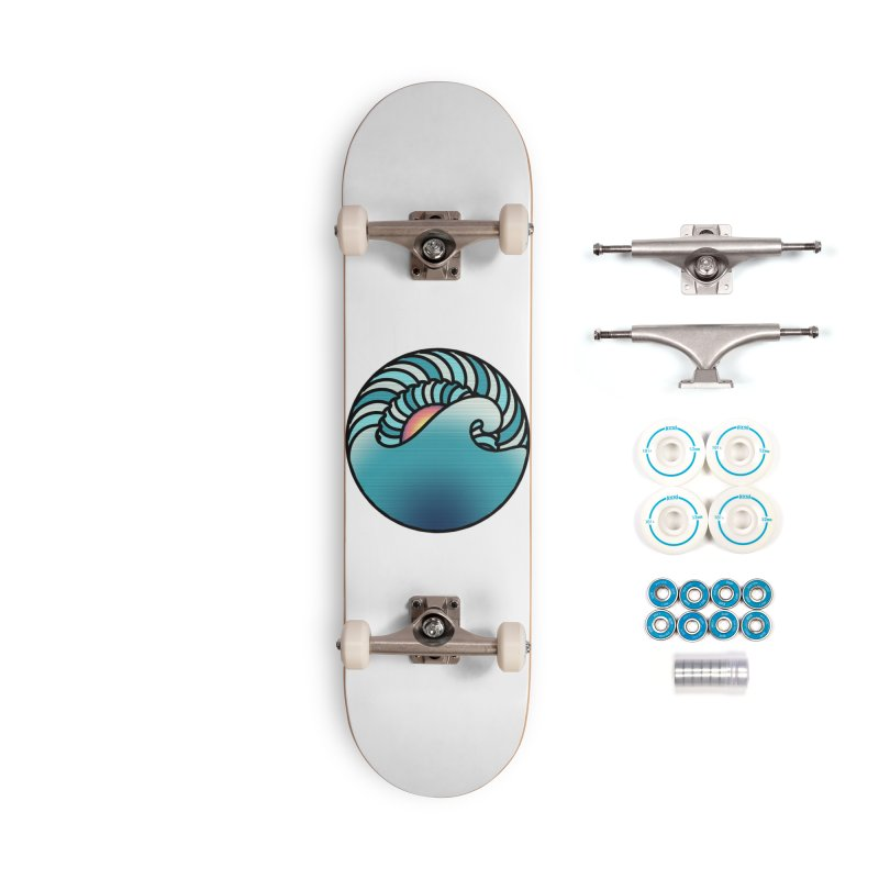 Endless Wave Accessories Complete - Basic Skateboard by Rocain's Artist Shop